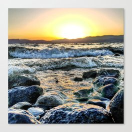Smooth Canvas Print
