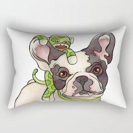 Bubba & Monkey Rectangular Pillow