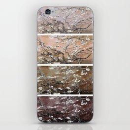 Vincent Van Gogh Almond Blossoms Brown Peach iPhone Skin
