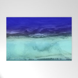Midnight Waves Seascape Welcome Mat