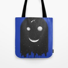 Friends From The Black of The Night Tote Bag