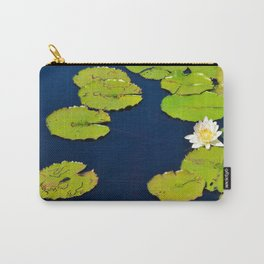 Dark Blue Pond by Teresa Thompson Carry-All Pouch