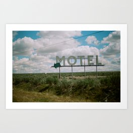 Coulee City Art Print