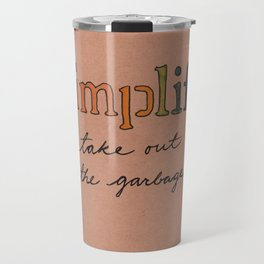Simplify Travel Mug