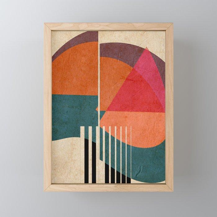 in the autumn Framed Mini Art Print