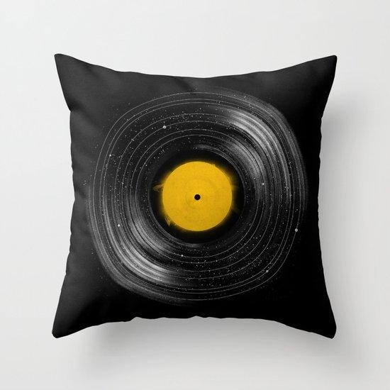 Sound System Throw Pillow