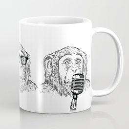Hear Evil, See Evil, Speak Evil Coffee Mug