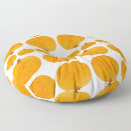 Pumpkin Pattern | Rustic Floor Pillow
