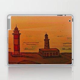 Good Morning / New and Old Lighthouse Fuencaliente La Palma Laptop & iPad Skin