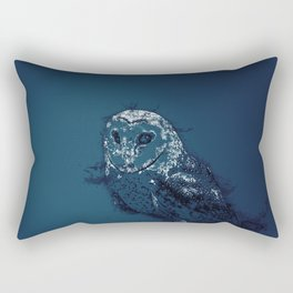 OWL .. Rectangular Pillow
