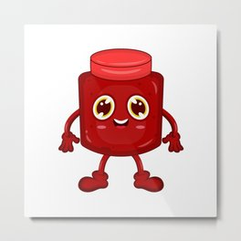 Jam Jelly Metal Print