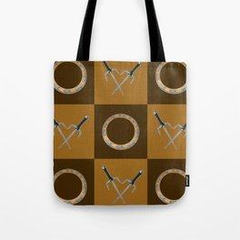 Xena Color Block Tote Bag