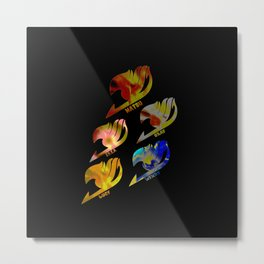 Fairy Tail Symbol Metal Print