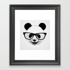 Mr. Panda Framed Art Print