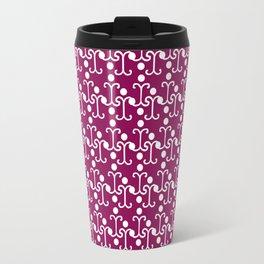 Lattice Pattern (Purple) Travel Mug