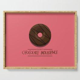 1DONUT - Chocolate Indulgence Serving Tray