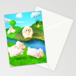 Grass is always greener Stationery Cards