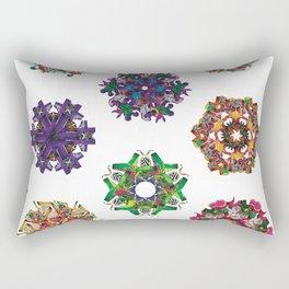 Swirls 0-9 Rectangular Pillow