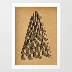 - cascade - Art Print
