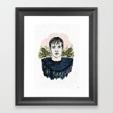 LAKE BOY Framed Art Print