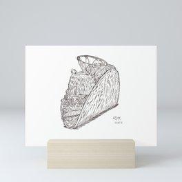Taco de canasta Mini Art Print