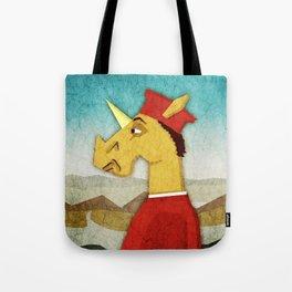 Federico Da Unicornio Tote Bag