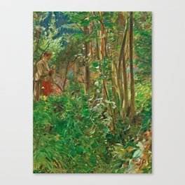 ANDERS ZORN,   (SUN IN THE FOREST). Canvas Print