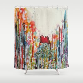 been loving you for always Shower Curtain