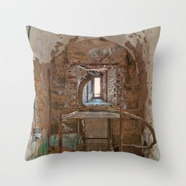 Serpent Prison Cell Throw Pillow