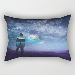 Constellation of the Dolphin by GEN Z Rectangular Pillow