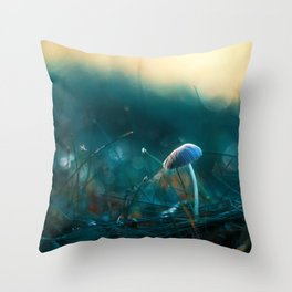 In the Dusk of Dawn Throw Pillow