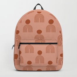 Full moon rainbow pattern collection SS03 Backpack