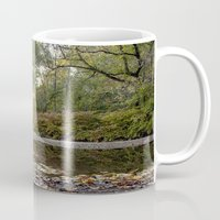 indiana Mugs featuring indiana fall by Bonnie Jakobsen-Martin