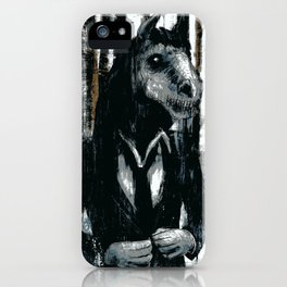 Brook Horse iPhone Case
