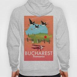 Bucharest Romania vacation map Hoody