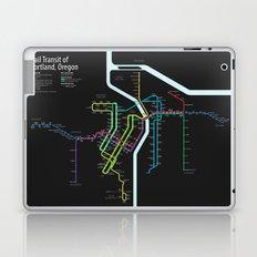 Rail Transit of Portland, Oregon Laptop & iPad Skin