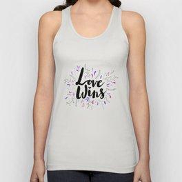 Love Wins Unisex Tank Top