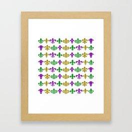 Fleur de Lis Heaven Framed Art Print