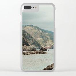 monterosso al mare2 Clear iPhone Case