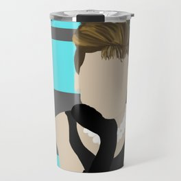 Imagine Holly Travel Mug