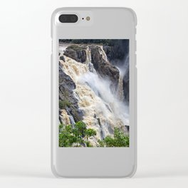 Enjoy the waterfall Clear iPhone Case