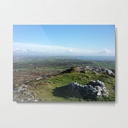 At Rest over Ynys Mon Metal Print