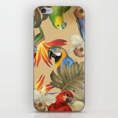 Birdland print iPhone & iPod Skin