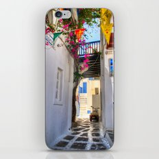 Greece Santorini Island iPhone & iPod Skin