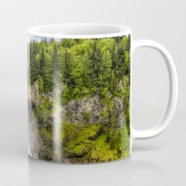Snoqualmie Falls and Lodge in Summer Coffee Mug