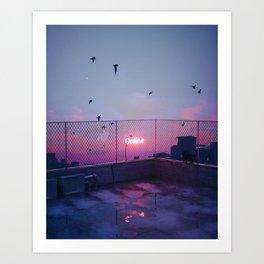 ONLINE #3 Art Print