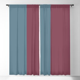 Parable to Behr Blueprint Color of the Year and Accent Colors Vertical Stripes 6 Blackout Curtain