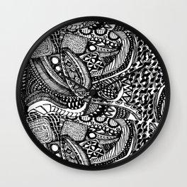 Anti-Matter Pattern Wall Clock
