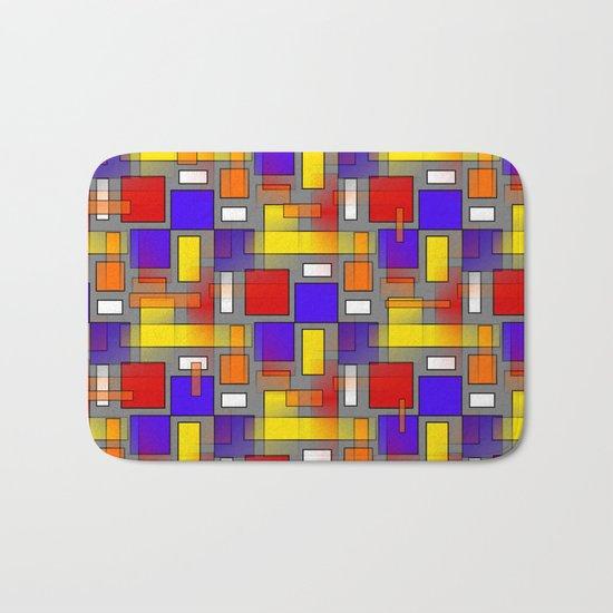 Color Mix Bath Mat