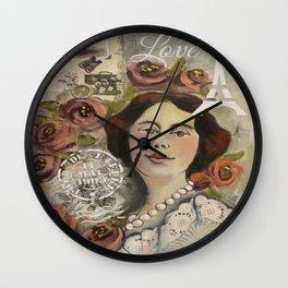 Roseline Wall Clock